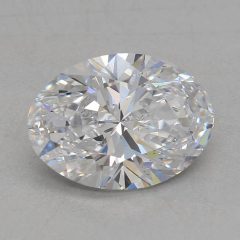 2.00 Carat E SI1 Oval Lab Created Diamond