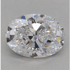 2.01 Carat E VS2 Oval Lab Created Diamond
