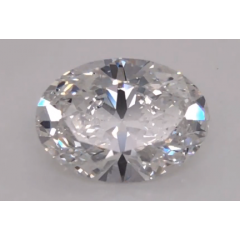 2.01 Carat E VVS2 Oval Lab Created Diamond
