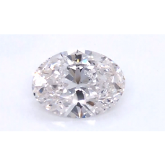 2.44 Carat E VVS2 Oval Lab Created Diamond