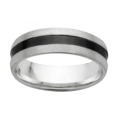 Two tone Zirconium wedding/dress ring