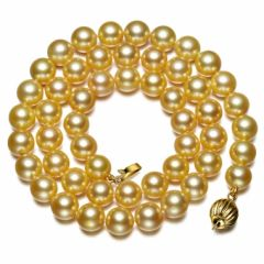 Classic Gold Australian South Sea Pearl necklace
