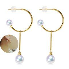 Custom 2 way Pearl earrings