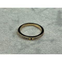 Diamond and sapphire wedding/dress ring