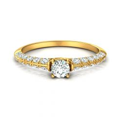 Love edge diamond engagement ring. SETTING ONLY