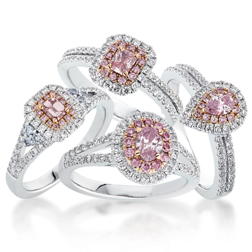 Image result for diamond engagement ring bunch