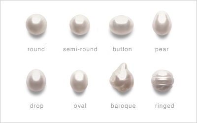 Image result for pearl shapes
